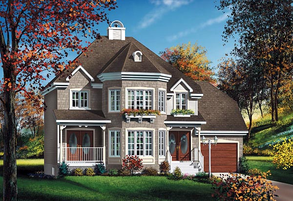 Victorian House Plan 49716 Elevation