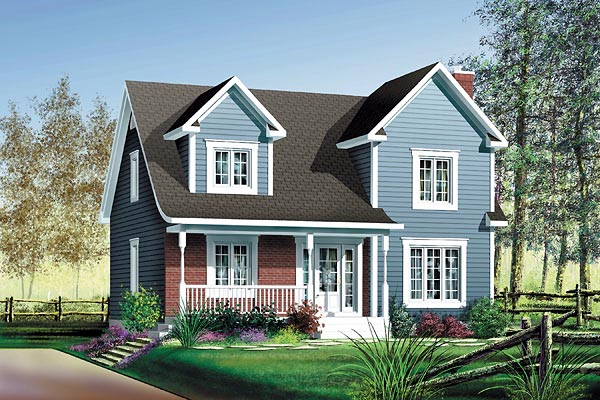 Country House Plan 49719 Elevation