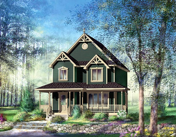 Southern House Plan 49724 Elevation