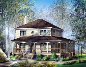 Country House Plan 49725 Elevation