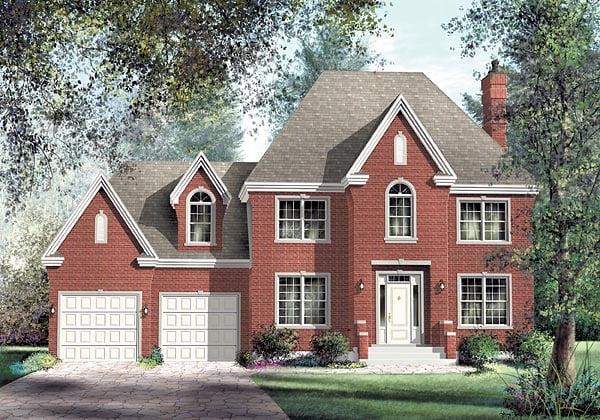 Victorian House Plan 49729 Elevation