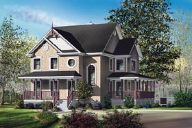 Country House Plan 49733 Elevation