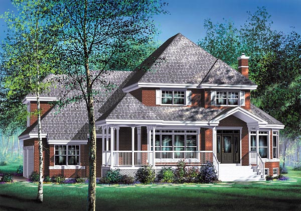Traditional House Plan 49736 Elevation