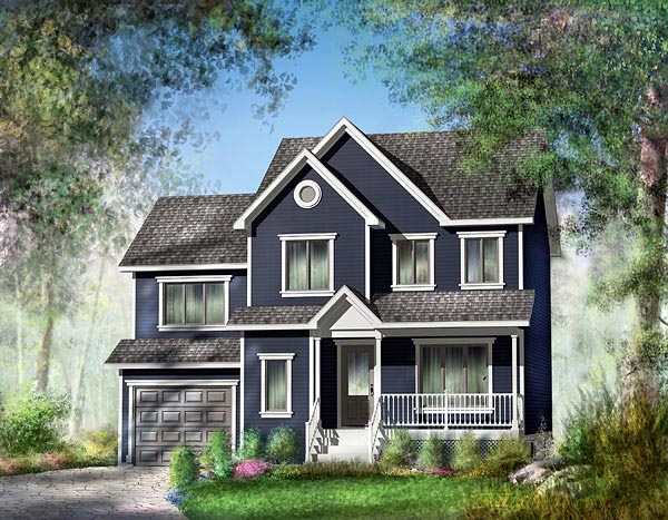 Country House Plan 49745 Elevation