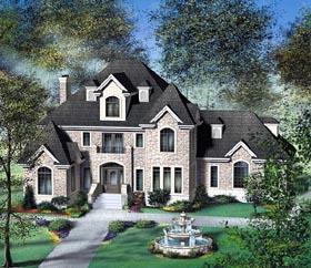 Victorian House Plan 49747 Elevation