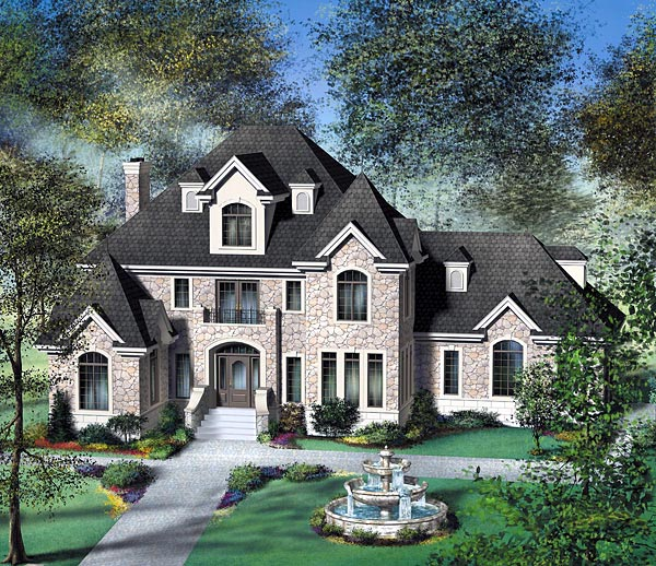 Victorian House Plan 49747 Elevation