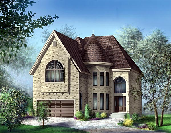 Victorian House Plan 49748 Elevation