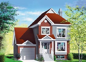 Traditional House Plan 49751 Elevation