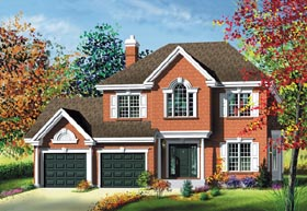 Traditional House Plan 49756 Elevation