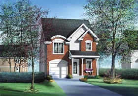 Traditional House Plan 49763 Elevation