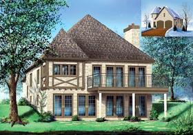 Tudor House Plan 49769 Elevation