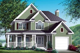 Country House Plan 49770 Elevation