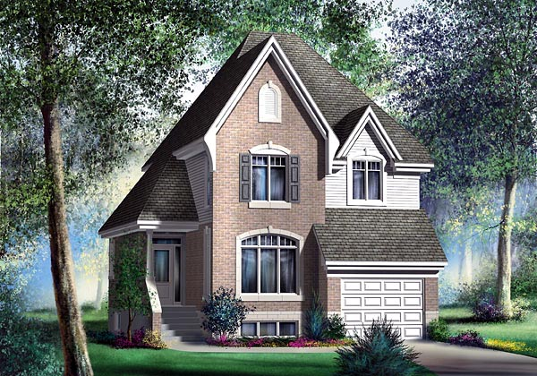 Victorian House Plan 49773 Elevation
