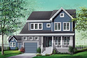 Country House Plan 49776 Elevation