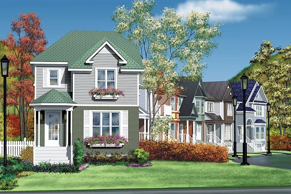 Traditional House Plan 49780 Elevation