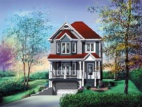 House Plan 49781 Elevation