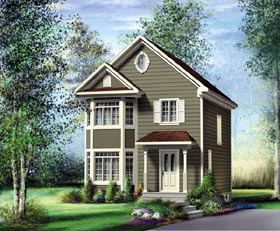 Traditional House Plan 49782 Elevation