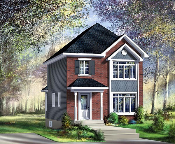 Craftsman House Plan 49785 Elevation