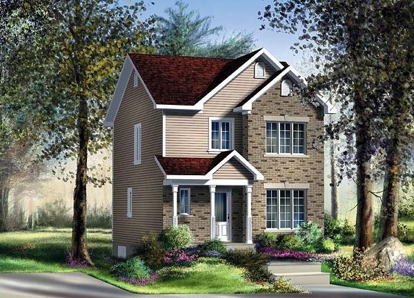 Craftsman House Plan 49786 Elevation