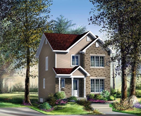 Craftsman House Plan 49788 Elevation