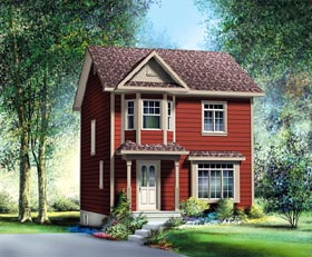 Traditional House Plan 49789 Elevation