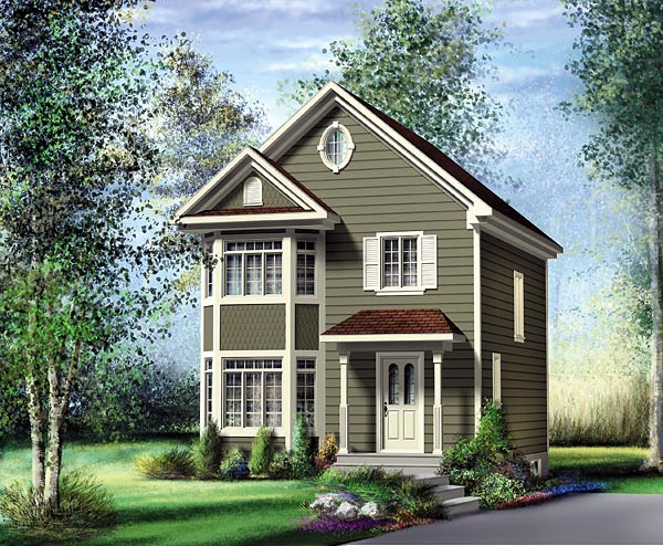 Traditional House Plan 49796 Elevation