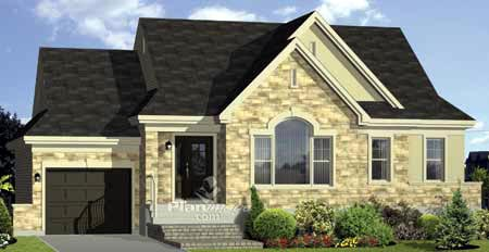 House Plan 49798 Elevation