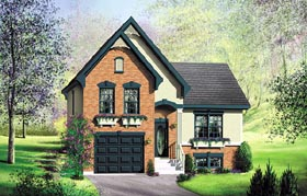 House Plan 49810 Elevation