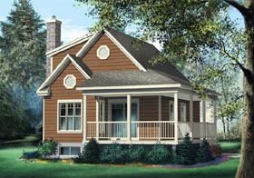 Country House Plan 49831 Elevation