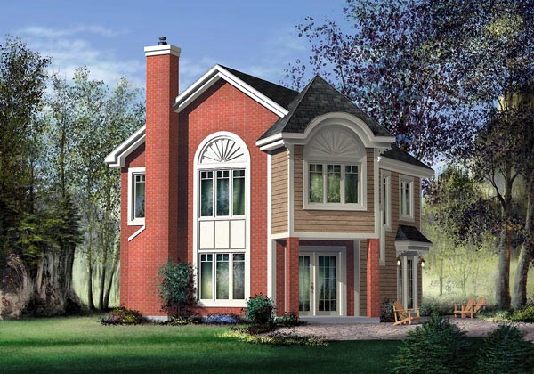 Victorian House Plan 49835 Elevation