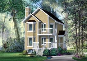 Craftsman House Plan 49836 Elevation