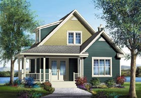 Southern House Plan 49837 Elevation