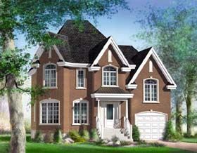 Traditional House Plan 49856 Elevation