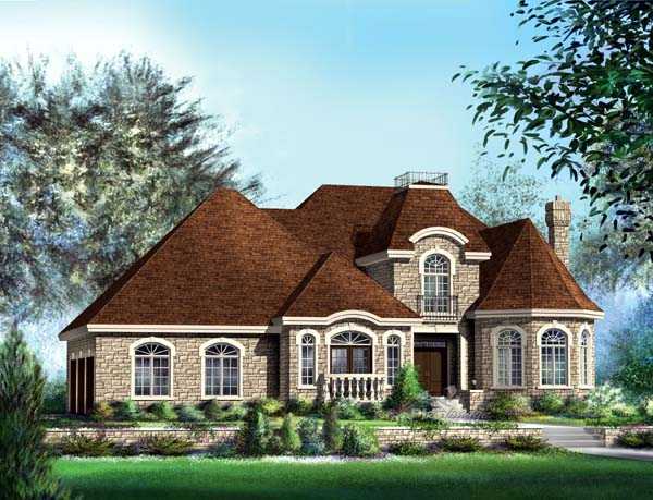Traditional House Plan 49857 Elevation