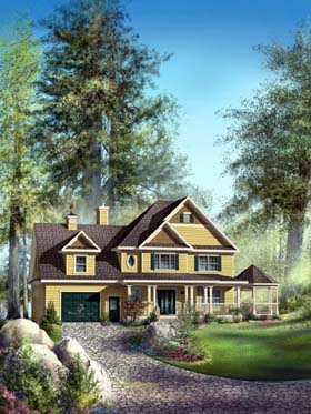 Traditional House Plan 49865 Elevation