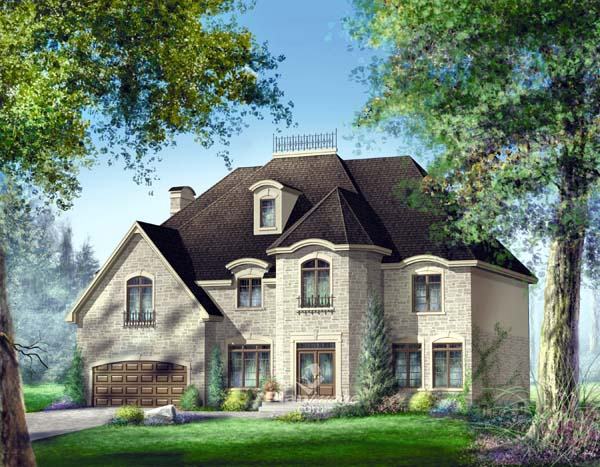 Traditional House Plan 49868 Elevation