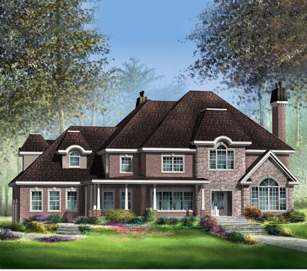 Traditional House Plan 49869 Elevation