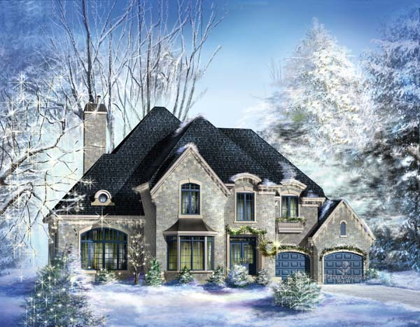 Traditional House Plan 49870 Elevation