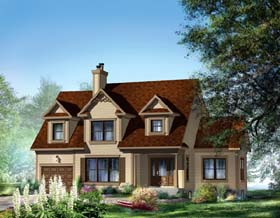 Traditional House Plan 49871 Elevation
