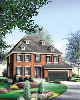Traditional House Plan 49872 Elevation