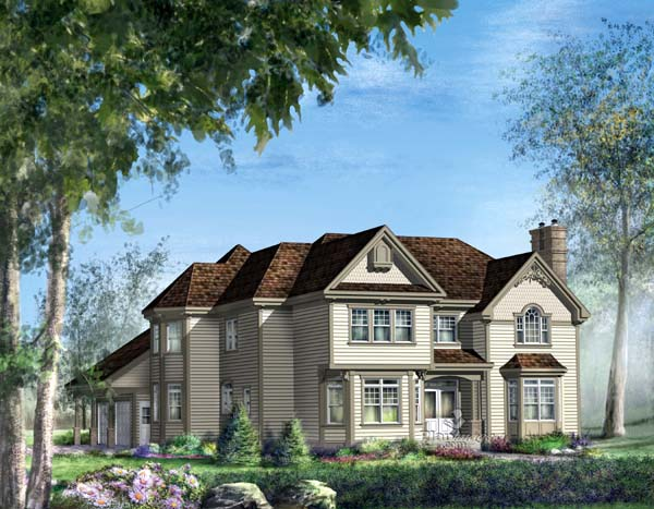 Traditional House Plan 49873 Elevation