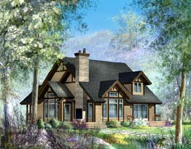 Traditional House Plan 49876 with 3 Beds, 2 Baths Elevation
