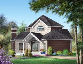 Traditional House Plan 49878 Elevation