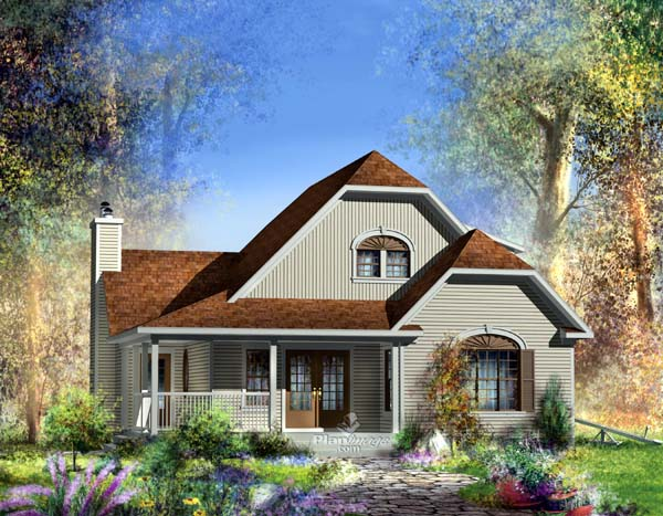 Traditional House Plan 49879 Elevation