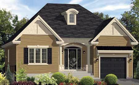 House Plan 49880 Elevation