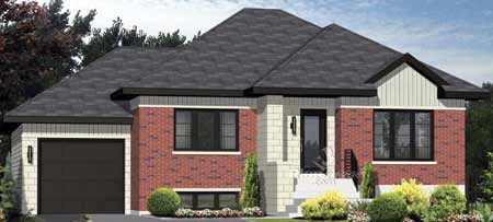 House Plan 49882 Elevation