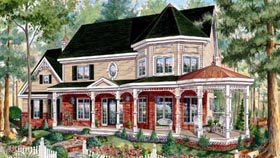 House Plan 49887 with 3 Beds, 3 Baths, 2 Car Garage Elevation