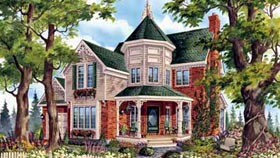 House Plan 49891 Elevation