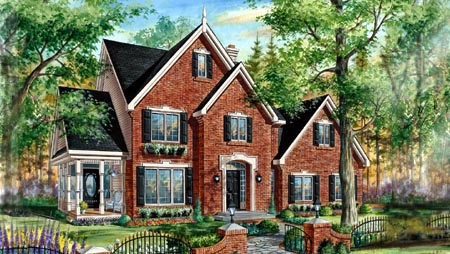 House Plan 49894 Elevation