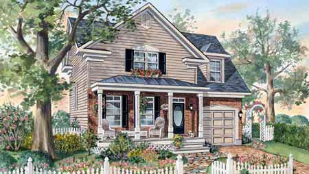 House Plan 49901 Elevation
